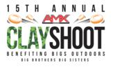 15th annual amx clay shoot logo