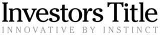 Investors title logo tagline