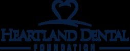Heartlanddentalfoundation logo blue