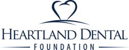 Heartlanddentalfoundation logo blue