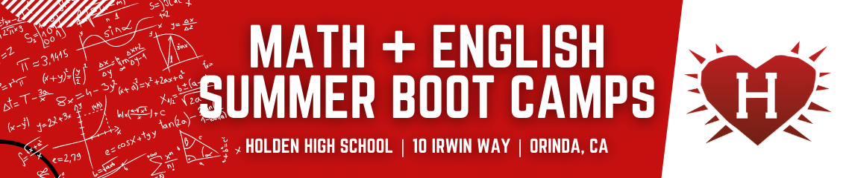 Math   english summer bootcamps