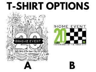 Sidebar t shirt options